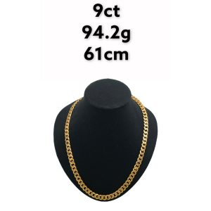 Buy from Ezigold   Gold Chain 9ct 94.2g 61cm