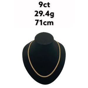 Buy from Ezigold   Gold Chain 9ct 29.4g 71cm