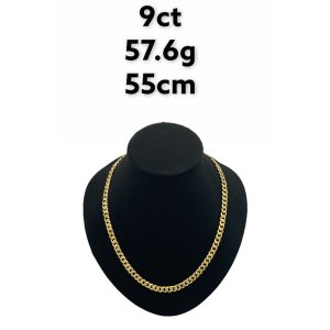 Buy from Ezigold   Gold Chain 9ct 57.6g 55cm