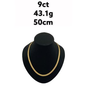 Buy from Ezigold   Gold Chain 9ct 43.1g 50cm