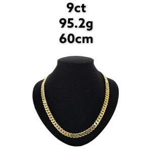 Buy from Ezigold   Gold Chain 9ct 95.2g 60cm