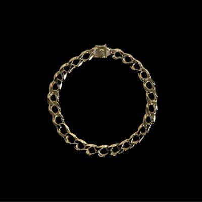 Buy from Ezigold | Gold Bracelet 9ct 28.3g 22cm