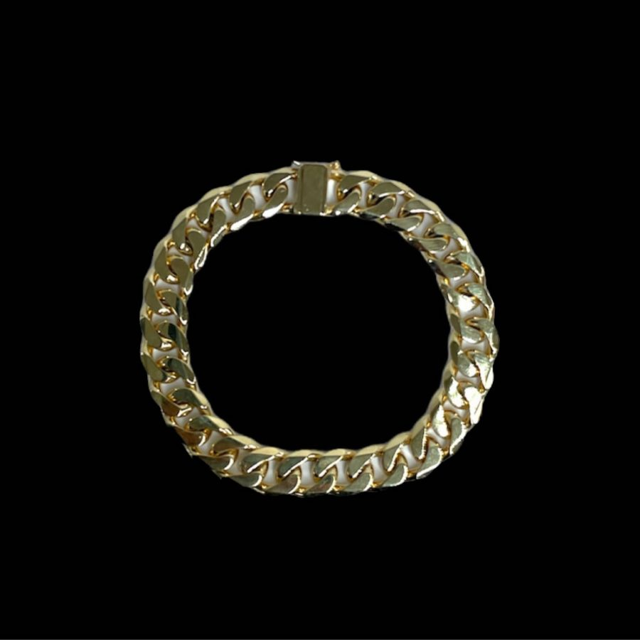 Buy from Ezigold | Gold Bracelet 9ct 49.6g 22cm